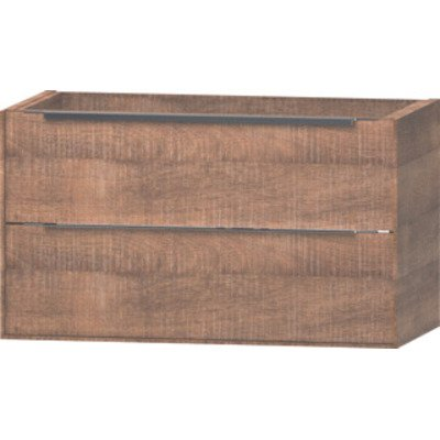 Wavedesign Cassino wastafelonderkast 90x46 cm brown oak