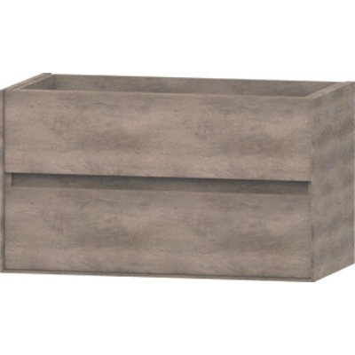 Wavedesign Pescara wastafelonderkast 90x46 cm grey oak