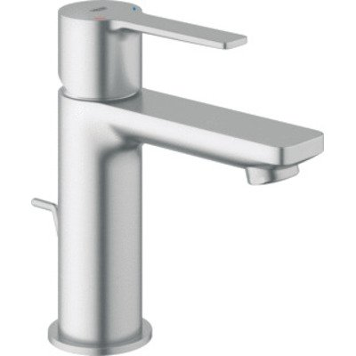 Grohe Lineare New wastafelkraan XS-size met waste supersteel