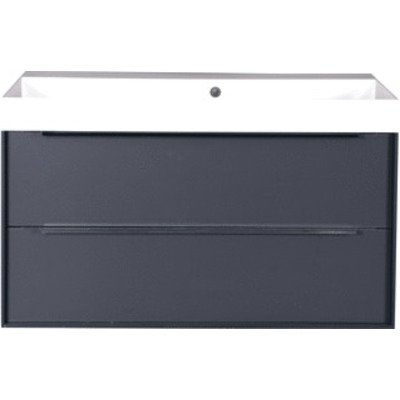 Wavedesign Tivoli wastafelonderkast 100x45cm diamant grey SW98620