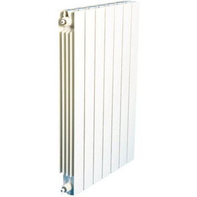 DRL VIP Radiator (decor) H44xD9.3xL50.4cm 582W Aluminium Wit