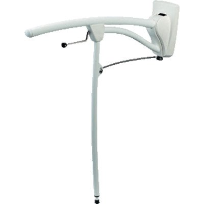 Invacare Revato Toiletsteun B13.5xL80cm Staal Wit