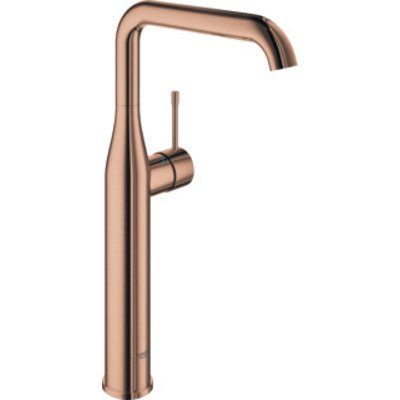 Grohe Essence New wastafelkraan XL met hoge draaibare uitloop EcoJoy warm sunset