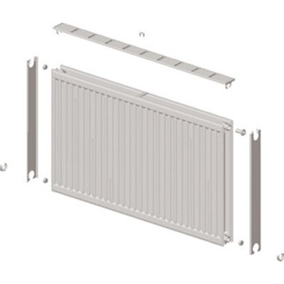 Stelrad Novello Radiator (paneel) H70xD7.7xL70cm 1071W Staal Wit