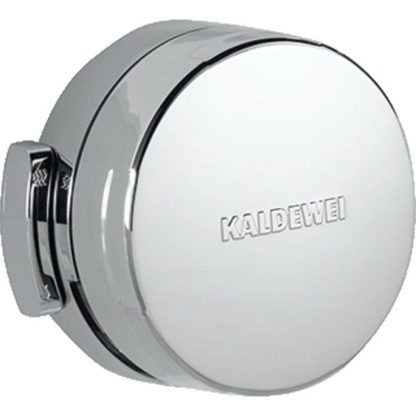 Kaldewei Comfort Level Plus badafvoer-, overloop- en vulcombinatie met waste voor Conoduo wit/chroom 0342009