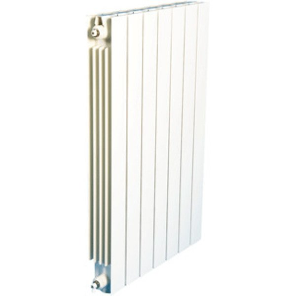 DRL VIP Radiator (decor) H59xD9.3xL42.4cm 625W Aluminium Wit R065005009016