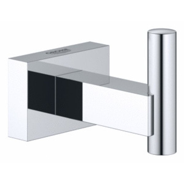 grohe essentials cube porte serviette chrome 40511001. Black Bedroom Furniture Sets. Home Design Ideas