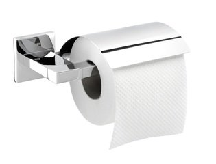 Tiger Items toiletrolhouder met klep RVS CO284120943