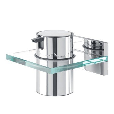 Tiger Saifra zeepdispenser chroom glas OUTLET
