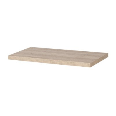 Saniclass TopPlate Plan vasque 81.4x46cm rectangulaire MFC Legno Calore