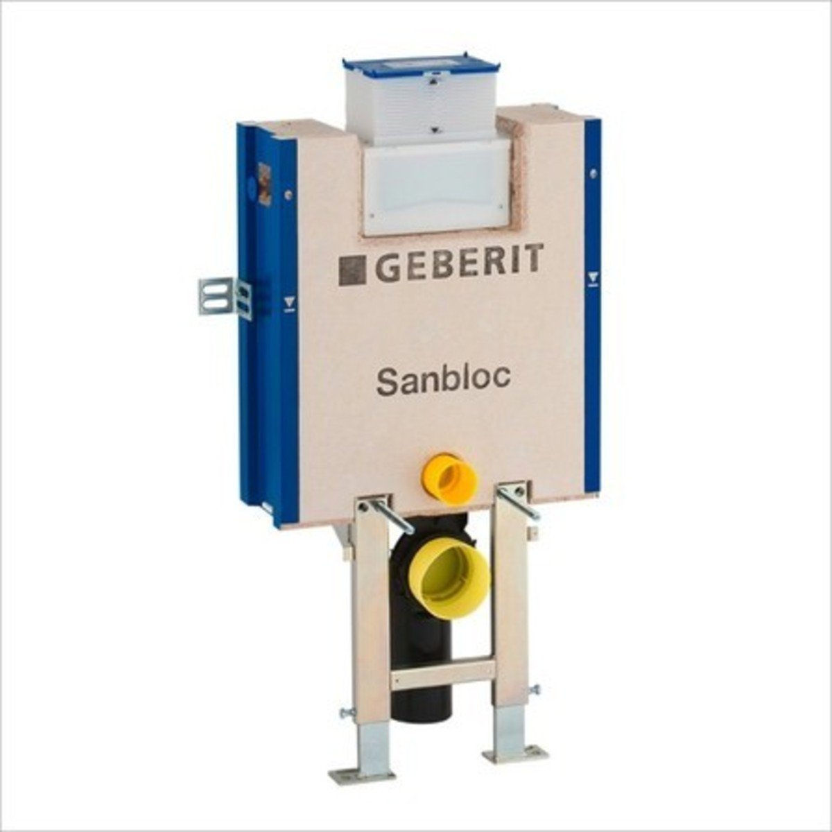 Geberit sanbloc wc element voor wandcloset h83 met omega for Geberit products