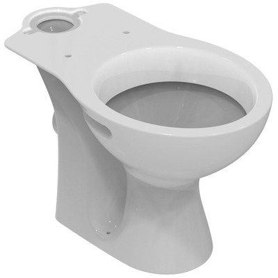 Ideal Standard Simplicity wc cuvette uitgang H porselein wit exclusief jachtbak/zitting