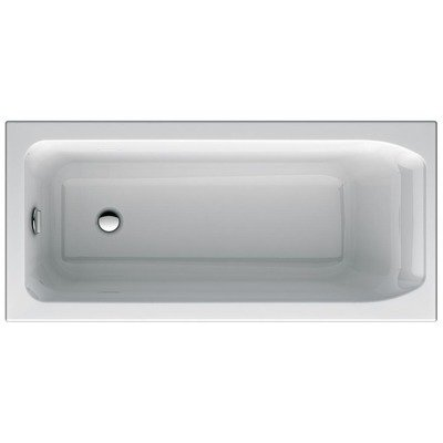 Ideal Standard New Active inbouwbad 1600x700 mm acryl wit zonder potenset