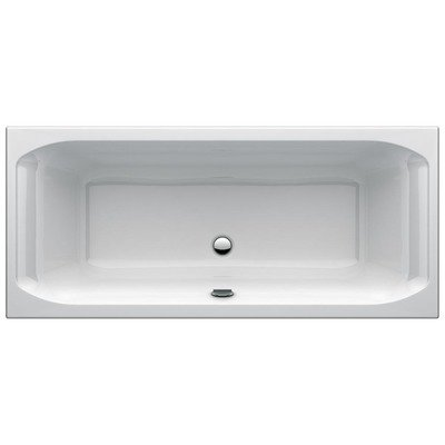 Ideal Standard New Active inbouwbad duo 1900x900 mm acryl wit zonder potenset