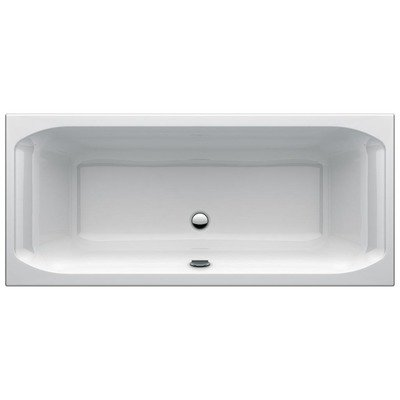 Ideal Standard New Active inbouwbad duo 1800x800 mm acryl wit zonder potenset