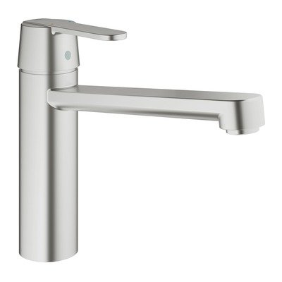 Grohe Get keukenkraan medium uitloop super steel