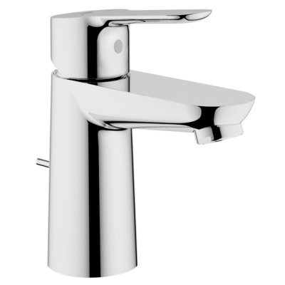 Grohe. Start Edge. Wastafelmengkraan met automatische lediging, chroom.