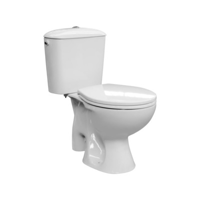 Nemo Go Solution WC pack vloeraansluiting S 11 cm 36 L softclose toiletzitting wit