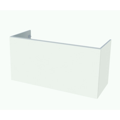Nemo Start Now onderbouwkast 1200 x 600 x 495 mm 1 lade greep in optie kleur wit