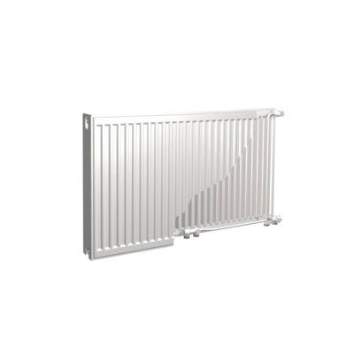 Nemo Spring Multicompact type 33 horizontale paneelradiator plaatstaal H 400 x L 2000 mm 3400 W wit RAL 9016