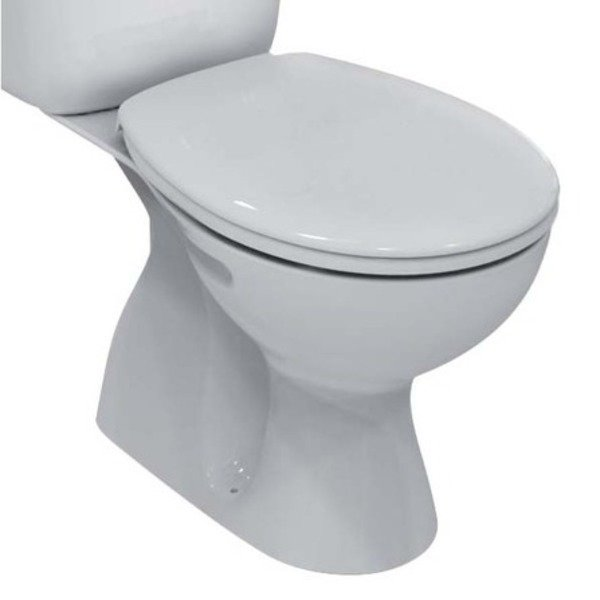 Ideal Standard Simplicity wc cuvette uitgang CA porselein wit exclusief jachtbak/zitting SW69688