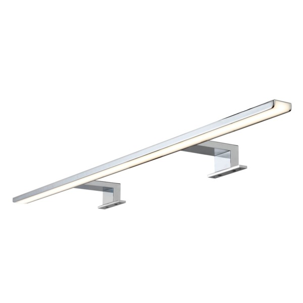 Pinge verlichting LED lamp IP44 230V B 800 x H 40 x D 108 mm chroom lichtkleur warm wit 41609
