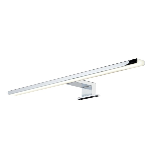 Pinge verlichting LED lamp IP44 230V B 500 x H 40 x D 108 mm chroom lichtkleur warm wit 41608